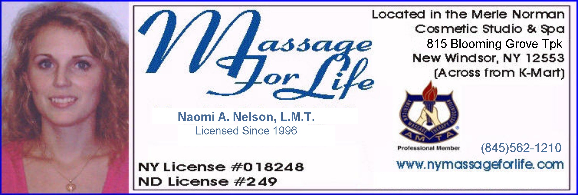 NY Massage For Life